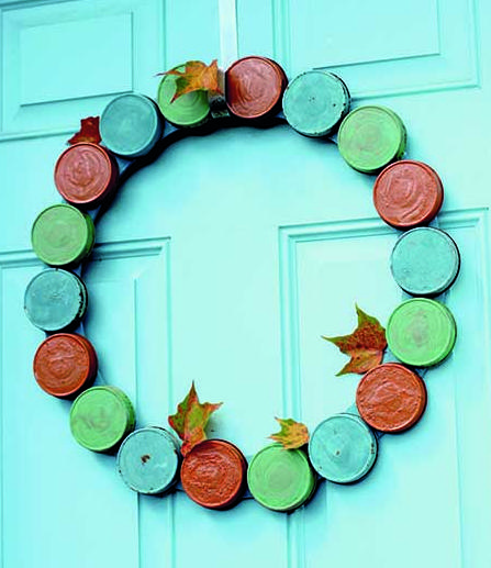 Autumn door wreaths